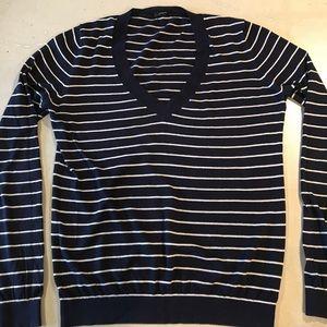 J Crew Stripped sweater light weight